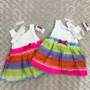 Twin Baby Girl Dresses 0-3 Months Children's Place